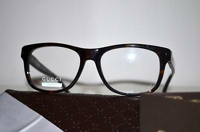 834662efe7 New Stylish Gucci Eyeglasses GG 1052 WR9 Brown Havana GG1052 Made In Italy  53mm