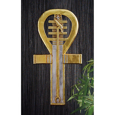 """23"""" Symbol of Kings Queens & Gods Ancient Egyptian Sign of Life Ankh Wall Art"""