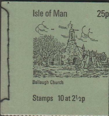 1973 ISLE OF MAN 25p BOOKLET