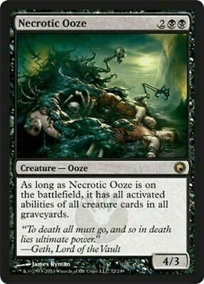Necrotic Ooze ~ Scars of Mirrodin ~ NearMint ~ Magic The Gathering
