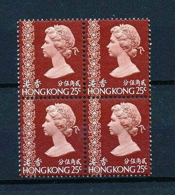 [L0989] Hong Kong : 4x Good Very Fine MNH Stamp in Block of 4
