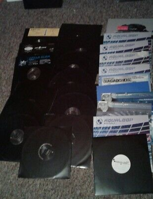 Vinyl sammlung 26 platten aqualoop eastwest ultraphonic trance techno