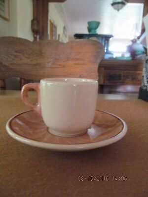 DESERT WARE  by Wallace Small Mug and Saucer