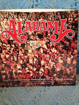 """Nos 1985 """"alabama Band"""" Special Limited Collector's Item Cover"""