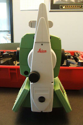 Leica TCRP1202 TCRP 1202 robotic total station R100 EXC COND. calibrated TPS1200