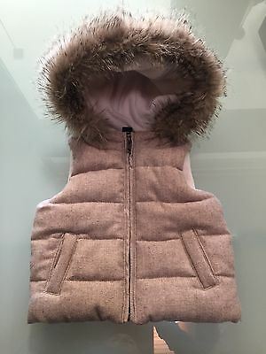 Gap Toddler Girls Puffer Vest Size 2 Years