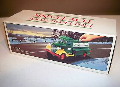 1985 First Hess Truck Toy Bank - NIB - Never DIsplayed