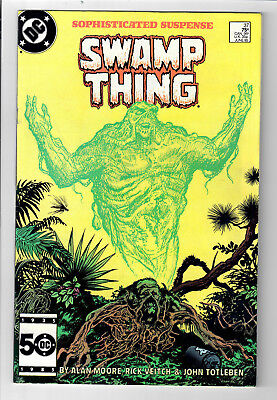 SWAMP THING #37 - Grade 9.0 - First appearance JOHN CONSTANTINE, HELLBLAZER!