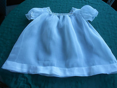 Antique Child's Snow White Dress / Hand Tatted Lace, V.g. Condition, Circia1915