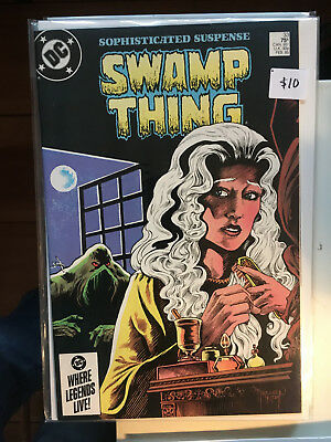SWAMP THING #33 NM-1st Print ALAN MOORE