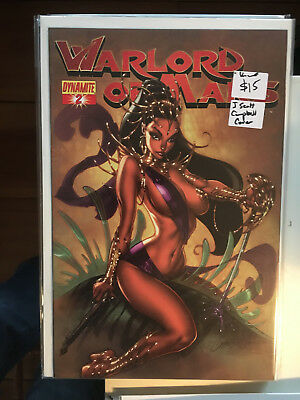WARLORD OF MARS #2 NM- 1st Pritn J SCOTT CAMPBELL COVER Dynamite Dejah Thoris