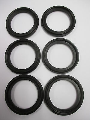Gaskets - Tri-Clover - 1 1/2 inch diameter - For Pipeline or other Use ( 6pk )