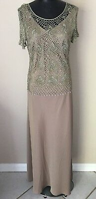KM Collections By Milla Bell Dress Two Piece Mother Of The Bride Gown Copper
