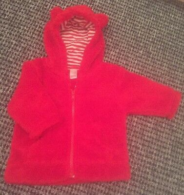 *Next* Bnwot Baby Girl Boy Unisex Winter Fleece Jacket Coat Hoody 3-6 Months