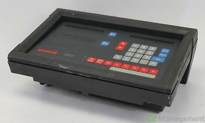 Newall DP7 Digital Readout Unit Operator Interface - For Parts or Repair