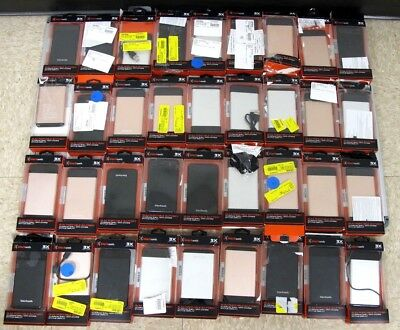 LOT OF 36 Portable Chargers BLACKWEB SLIM PORTABLE BATTERY POWER BANK WHOLESALE!