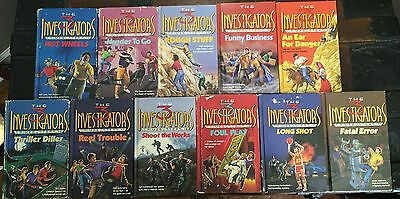 Complete Set of THREE INVESTIGATORS HCs CRIMEBUSTERS 1-11 Gibraltar Binding!