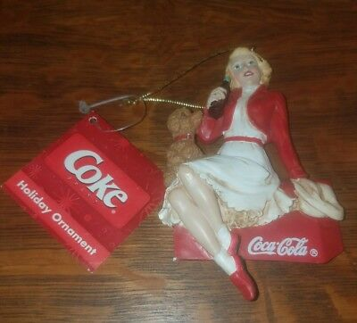 2006 Coca Cola Lady Christmas Ornament VHTF