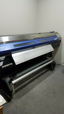 Roland XC-540 printer / cutter with media take up.