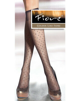 Fiore Trisha Polka Dot Knee Highs