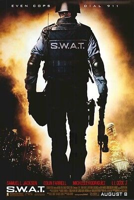 SWAT ~ REGULAR 27x40 MOVIE POSTER Samuel Jackson S.W.A.T. Police