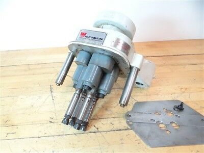 Wisconsion 4 Spindle Adjustable Drilling Head Sel-4-01-19781