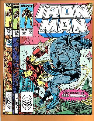 Iron Man #236 237 & 238 Direct Edition VF+ to VF/NM