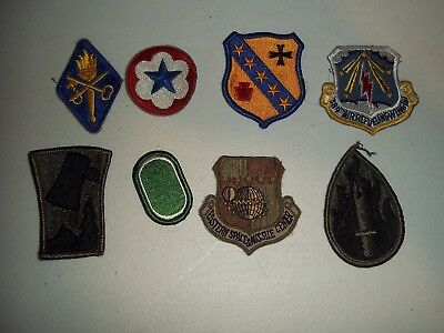 Wwi Wwii Korean War Vietnam Us Army Patch Lot #127