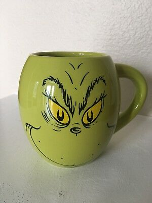 Grinch Coffee Mug From How The Grinch Stole Christmas NWT Green