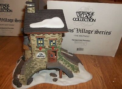 Dept 56 Dickens Village Series The Maltings    Retired
