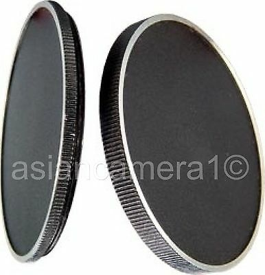 37mm Metal Stack Cap Set To Protect Store Filters Case Solid Stacker U & S 37-US