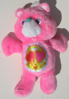 "Vintage 1991 Environmental Care Bear 13""  Love A Lot"