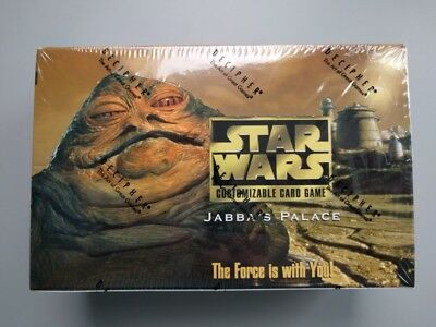 NEW Star Wars CCG Jabba's Palace Limited Ed Booster Box by Decipher: SEALED MINT