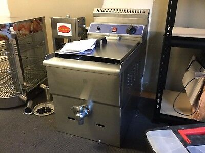 new commercial bench top natural gas deep fryer