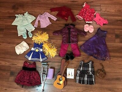 Lot of American Girl clothes and accesories-
