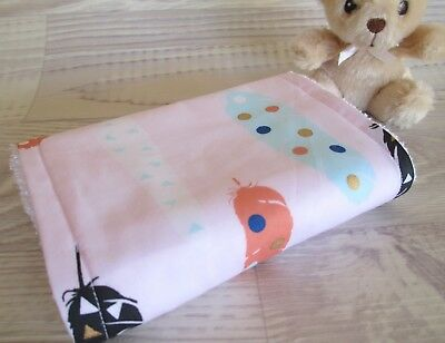 Baby Burp Cloth, READY TO SHIP, Handcrafted