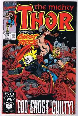 MIGHTY THOR  430    MARVEL Comics      GHOST RIDER