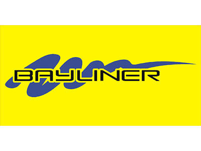 Advertising Display Banner for Yellow Bayliner