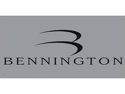 Advertising Display Banner for Bennington