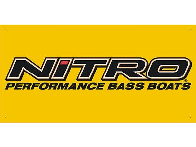 Advertising Display Banner for Nitro Performance Bass boats