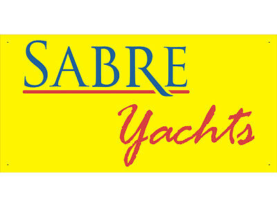 Advertising Display Banner for Sabre Yachts