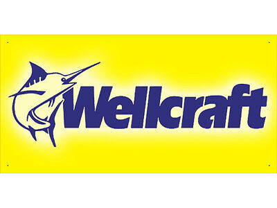 Advertising Display Banner for Wellcraft