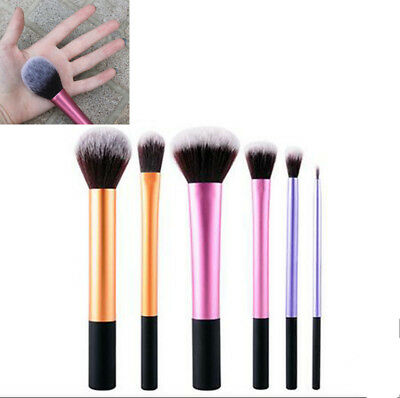 Hot Real TECHNIQUES Makeup Brushes Powder Foundation Travel Essential v1