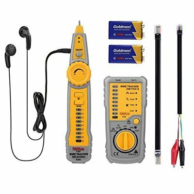 Tacklife CT01 Classic Cable Tester RJ11 RJ45 Line Finder Wire Tracker for Networ
