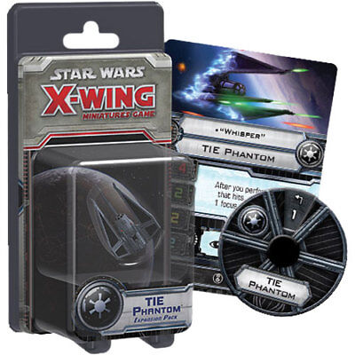 Star Wars - X-Wing Miniatures Game - Tie Phantom Expansion Pack NEW