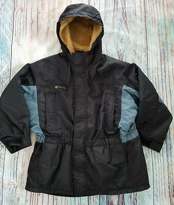 Columbia Girls or Boys Ski Winter Jacket Size youth M 10/12 Faux Sherpa lining