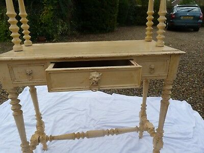 old pine painted  console/side table 1900/1930. EXCELLENT conditions