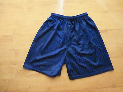Childrens Royal blue PE shorts, L