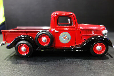 Reddy Kilowatt Texas Electric 1937 Ford Truck Die Cast 1:24 No Box