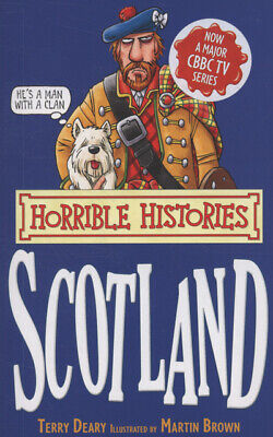 Horrible histories: Scotland by Terry Deary (Paperback)